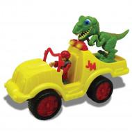 MEGASAUR JUNIOR dinozaura komplekts ar mašīnu, 16940 16940