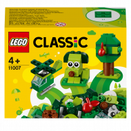 11007 LEGO® Classic Creative Radošie zaļie klucīši 11007