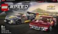 76903 LEGO® Speed Champions Chevrolet Corvette C8.R Race Car un 1968 Chevrolet Corvette 76903