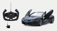 RASTAR rādiovadāms auto RC BMW I8 auto (durvis atveras uz augšu) 01:14, 71060 71060