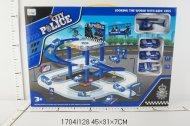 Stacija + auto Free WheelDiy Parking Lot,1704I128 1704I128