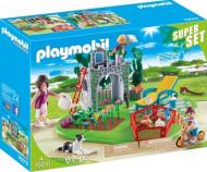 PLAYMOBIL SuperSet Family Garden, 70010 70010