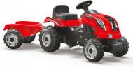 SMOBY sarkans traktors Farmer XL, 7600710108 7600710108