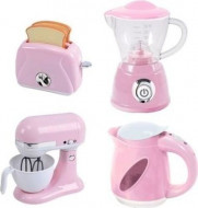 PLAYGO virtuves rīki rozā (katls vārīšanai, luksusa katls, mikseris, tosteris), 38286 38286