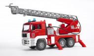 BRUDER ugunsdzēsēju mašīna ar pagriešanas kāpnēm, 02771 02771