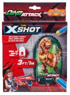 XSHOT-DINO ATTACK piepūšamais mērķis Dino, 4862 4862