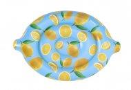 BESTWAY piepūšamais matracis Scentsational Lemon, 1.76m x 1.22m, 43392 43392