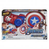 AVENGERS vairogs Power Moves Role Play Captain America, E7375EU4 E7375EU4