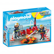 PLAYMOBIL CITY ACTION Firefighting Operation with Water Pump, 5397 5397