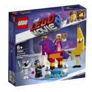 70824 LEGO® Movie 2 Iepazīšanās ar karalieni Vatevru Vanabi 70824