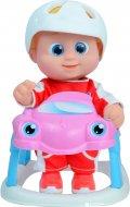 BOUNCING BABIES lelle Baniels super ātrais ar savu mašīnu, staigājošs, 801001 801001
