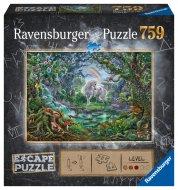 RAVENSBURGER puzle ESCAPE 9: Unicorn, 759gab., 16512 16512