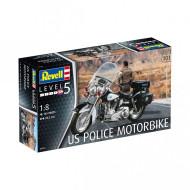 REVELL saliekams modelis US Police Motorbike, 7915 7915