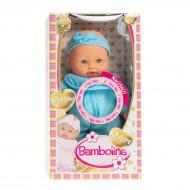 BAMBOLINA mīksta lelle ar mazuļa skaņām, Amore, 26cm, BD1814 BD1814