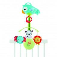 FISHER PRICE karuselis 3vienā Rainforest Friends, CHR11 CHR11