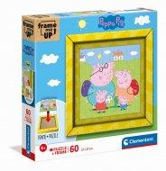 CLEMENTONI puzle Peppa Pig, 60gab., 38809 38809