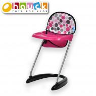 HAUCK barošanas krēsls priekš lelles, rozā, D93209 D93209