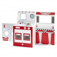 PLUM rotaļlieta virtuve, kafejnīca un teātris vienā komplektā, 41090 41090