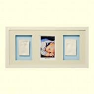 Baby memory prints Trio rāmis Balts BMP.050