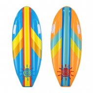 BESTWAY piepūšamais matracis Sunny Surf Rider, 1.14m x 46cm, dažadas, 42046 42046