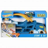 HW Stunt N' Go Hauler + Track, DWN56
