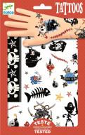 DJECO Body Art Tattoos -Pirates, DJ09584 DJ09584