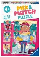 RAVENSBURGER puzle Job Swap Mix & Match, 3x24gab., 05136 05136