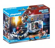 PLAYMOBIL policijas iecirknis un mašīna, 70326 70326
