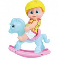 BOUNCING BABIES lelle Gidija uz zirga, šūpojās, 801003 801003