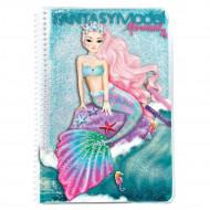 """TOPMODEL krāsojamā grāmata """"Mermaid"""", 10036 10036"""