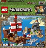 21152 LEGO® Pirātu kuģa piedzīvojums 21152