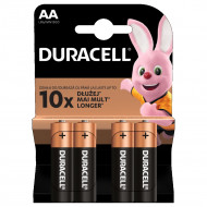 DURACELL akumulators AA, 4 pc., DURB005