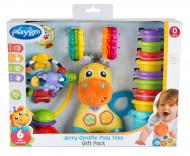 PLAYGRO žirafes Jerry rotaļu laiks, dāvanu iepakojums, 0187223 0187223