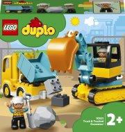 10931 LEGO® DUPLO Town Kravas automašīna un kāpurķēžu ekskavators 10931