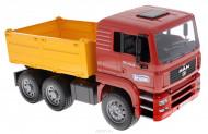 BRUDER MAN TGA Smagā celtniecības mašīna un Liebherr ekskavators, 2751 2751