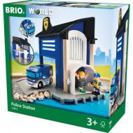 BRIO policijas iecirkņa komplekts, 33813 33813
