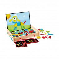 HAPE magnētiskā tāfele Art Box, E1631 E1631
