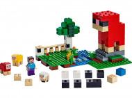 21153 LEGO® Minecraft™ Vilnas ferma 21153