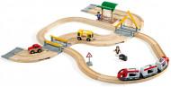 BRIO dzelzceļu un autoceļu ceļojumu komplekti, 33209 33209