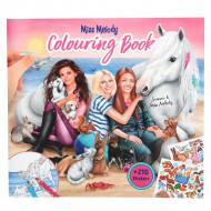 TOPMODEL Miss Melody krāsojamā grāmata ar dzīvniekiem, 8576 8576