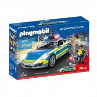 PLAYMOBIL Porsche 911 Carrera 4S policijas automašīna, 70066 70066