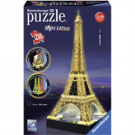RAVENSBURGER puzle 216p. Eiffel Tower-Night, 125791 125791