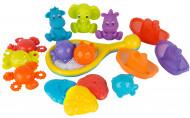 PLAYGRO pilnībā noslēgts vannas rotaļlietu komplekts Bath time Activity, 0187486 0187486