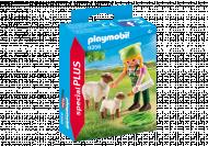PLAYMOBIL Zemnieks ar aitiņām, 9356 9356