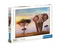 CLEMENTONI puzle African Sunset, 500gab., 35096 35096