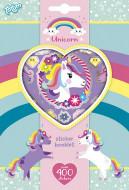 TOTUM uzlīmju komplekts Unicorn Sticker Book, 4 loksnes, 071117 71117