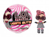 LOL Surprise Lights Glitter assort., 564843/564829