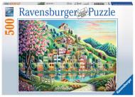 RAVENSBURGER puzle Blossom Park 500p, 14798 14798