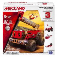 MECCANO konstruktors 3 Model Set - Rescue Car, 6026714
