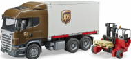 BRUDER kravas auto UPS ar autoiekrāvēju, 03581 03581